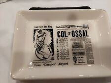 Vintage Nfl Collectible Steelers Colts Tray Delano Studios 1958 Baltimore News