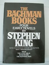 The Bachman Books Stephen King 1985 NAL Hardcover   - Excellent unread Copy VG+