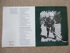 ORIGINAL WAYNE GRETZKY RESTAURANT TORONTO  WINE LIST  OILERS  KINGS  NHL HOCKEY