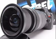 Ultra Wide Angle Macro Fisheye Lens for Canon Eos Digital Rebel 67 72 58mm new