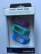 Wholesale Lot of 10 Garmin Vivofit Replacement bands - 3 Pack Large New