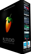 NEW FL Studio Producer 11 12 20 Edition Digital Audio Workstation DAW PC MAC