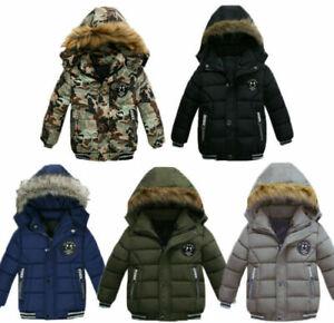 Children Down Jackets Winter Jacket Hooded Jackets Boys Girls Coats Winter Coat
