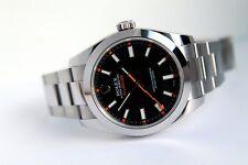 Rolex MILGAUSS Ref.116400 Schw.Blatt ! Wird nicht mehr Produziert Neu Zustand
