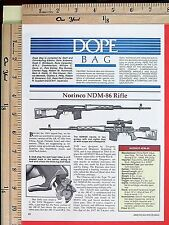 1992 NORINCO NDM-86 RIFLE Dragunov type precision Sniper gun 4-Page ARTICLE 6881