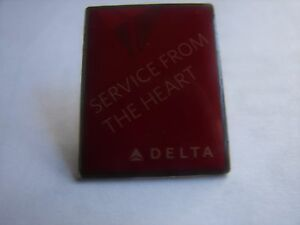 DELTA AIR LINES - SERVICE FROM THE HEART - PIN