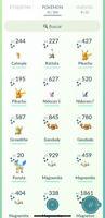 Cuenta pokemon go nivel 39 con 42 shiny
