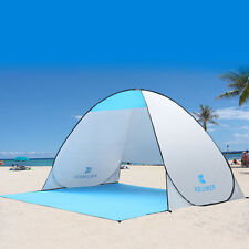 SUMMER AUTOMATIC POP UP BEACH TENT CAMPING QUICK OPEN SUNSHADE SHELTER CANOPY