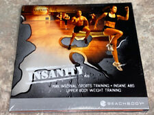 Insanity: Max Interval Sports Traning,Insane Abs,Upper Body Weight Training NEW