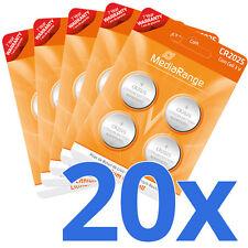 20x CR2025 Batterie Lithium Knopfzelle 3V CR2025 Agfaphoto