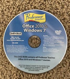 Professor Teaches Office 2010 & Windows 7. DVD Only