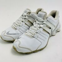 Nike Shox Current GS White Silver Platinum Grey 739637-102 6.5Y Youth Shoes