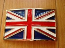 England British Flag Country Belt Buckle