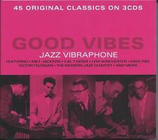 Good Vibes - Jazz Vibraphone - 45 Original Classics (3CD 2017) NEW/SEALED