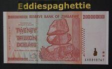 Zimbabwe 20 Trillion Dollars 2008 UNC P-89
