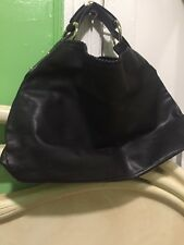 Gucci Horsebit Black Leather Handbag