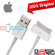 for iPhone 4S OEM Authentic Original Apple 30 Pins USB Data Charger Cable