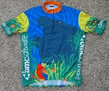 Men's Vomax Tropical Hawaiian Cycling Jersey Bib Size XL 5