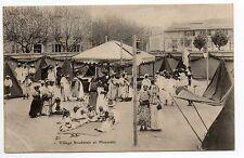 EXPOSITIONS CHALONS SUR SAONE CPA 71 village soudanais et marocain à l'expo 1906