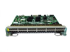 Dell Force10 C-Series C150 C300 Gigabit Ethernet 48-port SFP Line Card PN WCX6K