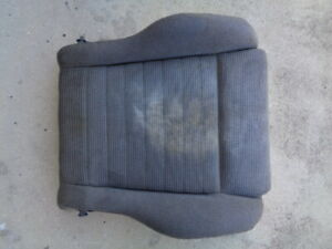 1990 NISSAN 300ZX (2+2) FRONT SEAT LOWER CLOTH CUSHION LEFT DRIVER SIDE GRAY OEM