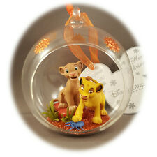 Exclusive Disneyland Paris - Lion King Christmas Ornament + Map of the 2 Parks