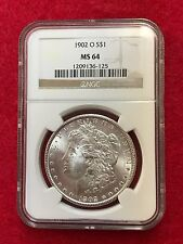 1902-O Morgan Silver Dollar MS64