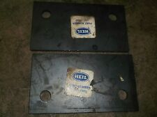 Heil 134-5663 Lot of 2 Packer Assembly Plates *FREE SHIPPING*