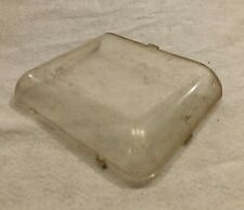 Structo/Ertl Vista Dome Horse Van Trailer Plastic Top Glass Window Original Part