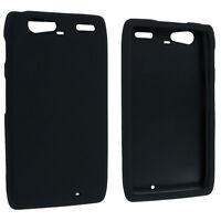 Black Snap-On Hard Case Cover for Motorola Droid Razr Maxx XT916