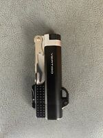 "Vertigo ""Beer Buddy"" Black Butane Cigar Lighter, Torch Flame, Bottle Opener"