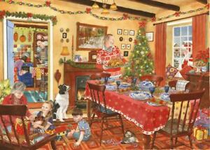 Unexpected Guest House of Puzzles HOP MC292 500 Pcs Christmas Jigsaw Puzzle