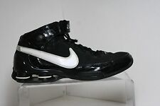 Nike Shox Elite II BB4 '07 Sneaker Multi Black White Men 13 Athletic Hip Leather