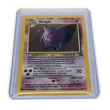 Pokemon Gengar Holo #5/62 Collectible Card NM Mint Condition