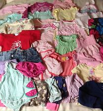 Baby Girls Clothing Size 6-12 Months Lot Of 34 Items