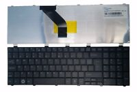 New Genuine Fujitsu Lifebook A530 A531 A512 Black US Laptop Keyboard