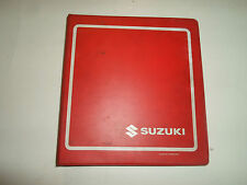 1988 1990 1991 Suzuki VS1400 Service Repair Manual BINDER STAINED WORN OEM