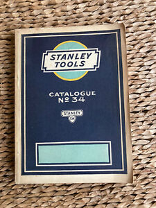VINTAGE STANLEY TOOLS SWEETHEART TOOL CATALOGUE 34 CATALOG BOOK 1926