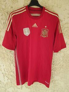 Maillot ESPAGNE ESPANA shirt camiseta ADIDAS SPAIN FIFA World Champions 2010 M