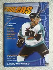 New listing Sheffield Steelers v Belfast Giants ice hockey programme (Oct 2001)