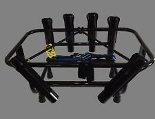 """Yeti 45"" 6 Rod Holder Jetski Fishing Rack Angled for Trolling"
