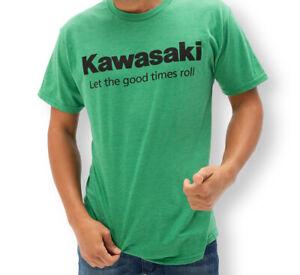 Kawasaki Let the good times roll™ T-Shirt - Size 2X - Genuine Kawasaki - New
