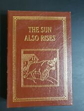Easton Press - The Sun Also Rises by Hemingway - Great Books .
