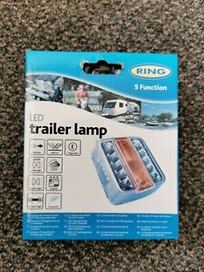 RING RCT445 5 Function LED Trailer lamp light Sealed unit E approved UK Ship FOC