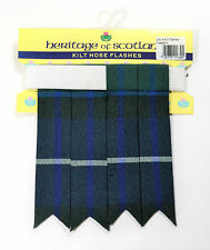 KILT FLASHES TARTAN FREEDOM OF SCOTLAND HOSE SOCK POINTED HIGHLAND KILTWEAR NEW