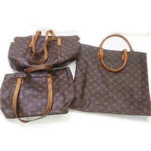 Louis Vuitton Monogram Shoulder/Hand Bag 3 pieces set 521036