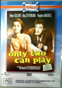 Only Two Can Play 1962 DVD British Comedy Peter Sellers  NEW  SEALED R4