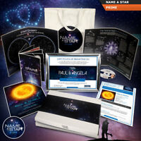 NAME A STAR GIFT SET FULLY PERSONALISED VALUE PACK OR UPGRADES WITH GIFT BOX