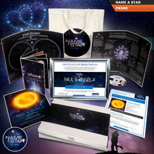 *** NAME A STAR GIFT SET - FULLY PERSONALISED GIFT SET ***VALUE PACK OR UPGRADES