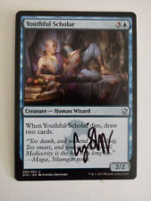 Youthful Scholar Signed by Cynthia Sheppard Magic the Gathering